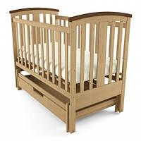 """Дитяче ліжко-колиска """"Міа"""" (Натуральне)"""
