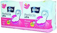 Прокладки женские Bella Perfecta Ultra Rose Breathable Extra Soft 10+10шт.
