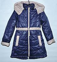 Демисезонная куртка-плащ для девочки 8-11 лет