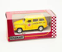 Машинка Kinsmart 1950 Chevrolet Suburban School Bus