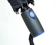Мужской зонт автомат прямая ручка