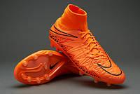 Бутсы Nike Hypervenom Phatal II FG 747214-888,Оранжевые, найк хупервеном