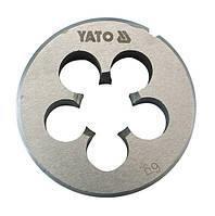 Yato плашка м 8, из быстрорежущей стали м2 2965