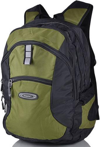 """Рюкзак стильный с отделением для ноутбука 15"""", 25 л. Onepolar W1319-green зеленый"""