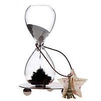 Акция! Часы магнитные песочные Декоративные стеклянные часы Wild dance the hourglass