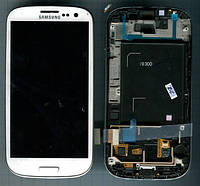 Дисплей Samsung i9500 Galaxy S4 c сенсором белый