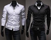 Рубашка мужская приталеная