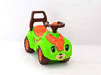 Машинка каталка Автомобиль для прогулок 3428 зеленая