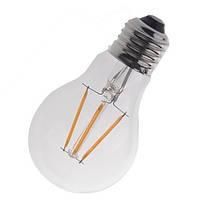 Светодиодная LED-filament лампа 4W E27 / A60