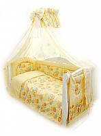 Постіль Twins Comfort С-014 Пухнасті ведмедики жовт