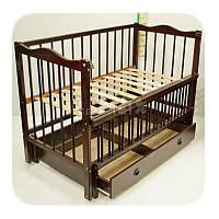 Детская кроватка Кузя Ангелина с ящиком