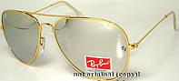 Солнцезащитные очки - копия Рей бен модель №3 зеркальные