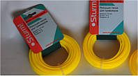 Леска для триммера 3.0 мм (звезда) желтый 15 м GT 3535 3.0.8 Sturm