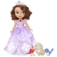 Кукла Disney Интерактивный набор Поющая Принцесса София с животными