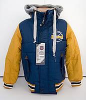 Весенняя куртка под резинку мальчику 5 - 9 лет