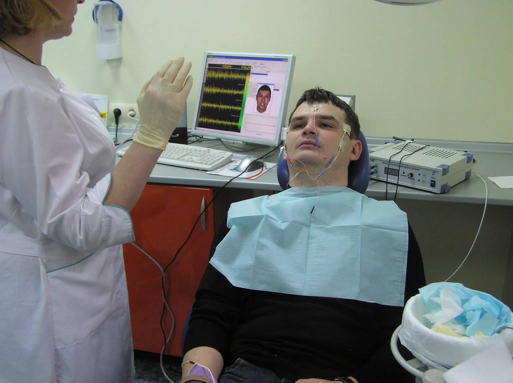 Миограф для стоматологии в Клинике Мирославы Дрогомирецкой, г.Киев