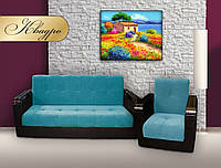 """Комплект мягкой мебели """"Квадро"""" (диван + кресло)"""