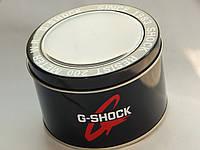 Подарочная коробка для часов c логотипом G-Shock металическая, круглая
