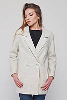 """Пальто-пиджак """"Бланка"""" светло бежевое"""