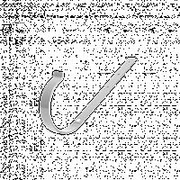 Кронштейн желоба метал 120 DEVOREX(деворекс )белы1