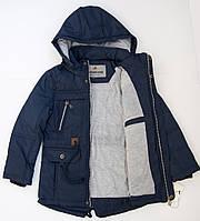 Парка весенняя куртка на мальчика 5 - 9  лет