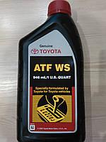 Масло для автоматических коробок передач Toyota ATF WS (1 литр)
