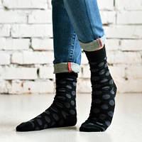 Оригинальные мужские носки в горошек (Дюна р.43-46)