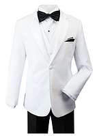 Нарядный стильный костюм пятёрка с белым пиджаком
