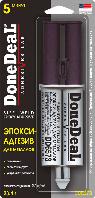 Клей для металла 5-минутный эпокси-адгезив для металлов DoneDeal DD6573