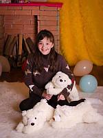 Мягкая игрушка плюшевый Медвежонок Джек