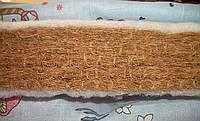 Матрас в детскую кровату (кокосовый 6см) пять слоев