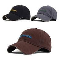 Бейсболки COLUMBIA. Бейсболки ведущих брендов. Мужские кепки.