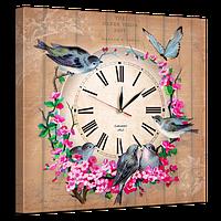 Часы на холсте 53 х 53 см D-3