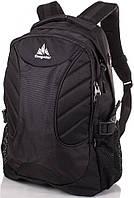 Мужской рюкзак 2 в 1 от торговой марки ONEPOLAR (ВАНПОЛАР) W1307-black чёрный