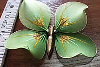 Бабочка для штор цвет зеленый