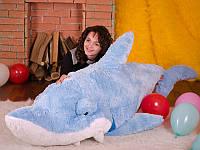 Мягкая игрушка плюшевая Большая Акула Симпатяга