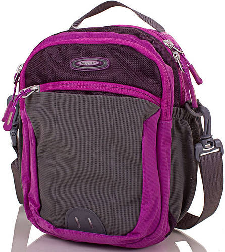 Фиолетовая сумка через плечо ONEPOLAR (ВАНПОЛАР) W5231-violet