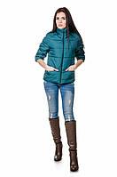 Модная женская куртка весна-осень Casual (бутылка), фото 1