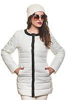 Куртка женская белая демисезонная