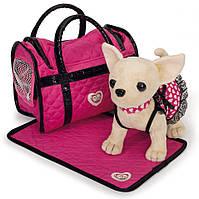 "Собачка Chi Chi Love ""Чихуахуа. Розовая мечта"" с ковриком и сумочкой 589 9700"