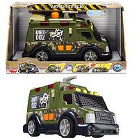 """Функциональное военное авто """"Бронированная грузовик"""" со звук., Свет. и водным эффектами, 33 см, 3"""