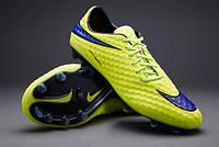 Бутсы  Nike HYPERVENOM PHANTOM FG 599843-758, Салатовые, найк хупервеном