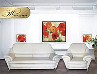 """Комплект мягкой мебели """"Жаклин"""" (диван + кресло)"""