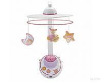 """Игрушка - мобиль на кроватку Chicco """"Волшебные звездочки"""" (розовый) 02429.10"""