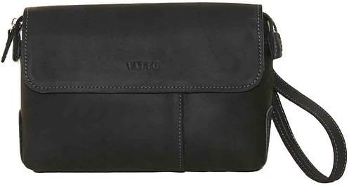 Мужская кожаная черная сумка-клатч VATTO Mk19Kr670
