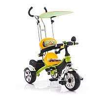 Детский трёхколёсный велосипед Bambi M 1690 жёлтый