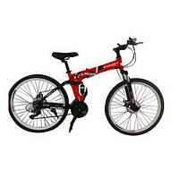 Спортивный складной велосипед Compact 26 дюймов red