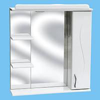 Зеркало для ванной З-02 Фрезеровка №1