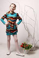 Детская красная туника Весна - Осень