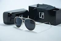 Солнцезащитные очки Linda Farrow капли черные